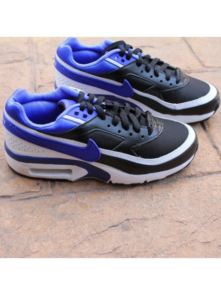 NIKE AIR MAX BW GS BLACK PERSIAN VIOLET